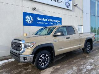Used 2018 Toyota Tundra SR5 PLUS TRD 4X4! for sale in Edmonton, AB