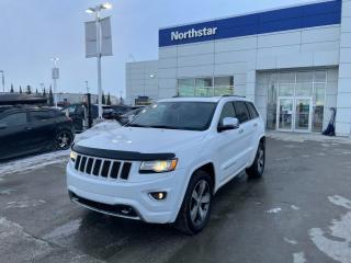 Used 2015 Jeep Grand Cherokee OVERLAND V8/PANOROOF/LEATHER/NAV/HEATEDSEATS/BACKUPCAM for sale in Edmonton, AB