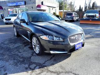 Used 2012 Jaguar XF Portfolio W/Sport PKG Fully Loaded for sale in Windsor, ON