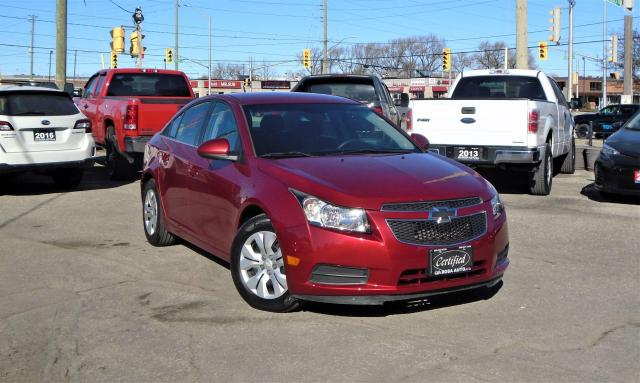 2012 Chevrolet Cruze 4dr Sdn LT Turbo w/1SA SAFETY PW PL PM B-TOOTH