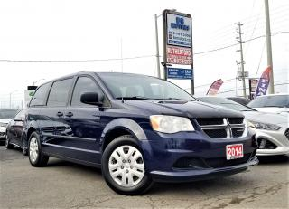Used 2014 Dodge Grand Caravan No Accidents| 1 Owner | SE | Loaded | Certified for sale in Brampton, ON