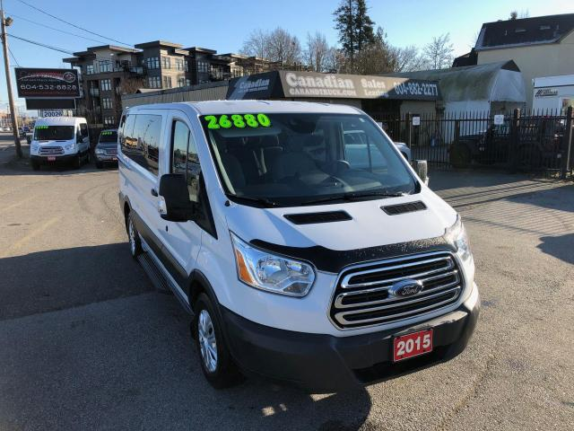 2015 Ford Transit 150 XLT 8 PASS 3.7L V6 6 SPD AUTOMATIC