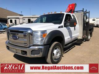 Used 2015 Ford F-550 XLT SUPERCAB 4WD DRW PICKER 6.8L for sale in Calgary, AB
