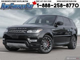 Used 2016 Land Rover Range Rover Sport SPORT | DYNAMIC | PANO | NAV | V8 & MORE!!! for sale in Milton, ON