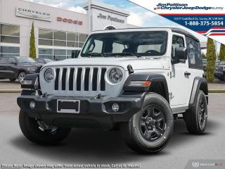 New 2021 Jeep Wrangler SPORT for sale in Surrey, BC