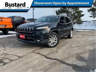 Used 2015 Jeep Cherokee 4WD 4dr Limited | Pano | Navi | V6 | Loaded! for sale in Waterloo, ON
