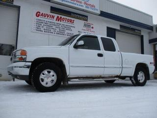 Used 2001 GMC Sierra 1500 SLE for sale in Swift Current, SK