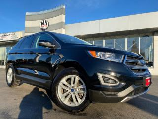 Used 2017 Ford Edge SEL AWD ECO-BOOST LEATHER SUNROOF CAMERA 36KM for sale in Langley, BC