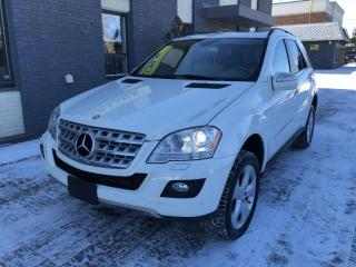 Used 2010 Mercedes-Benz ML-Class 4MATIC 3.5L for sale in Nobleton, ON