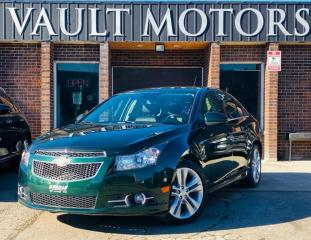 Used 2014 Chevrolet Cruze 4dr Sdn 2LT,LEATHER,NO ACCIDENTS,LOADED for sale in Brampton, ON