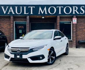 Used 2017 Honda Civic Sedan 4dr CVT Touring, LEATHER, NO ACCIDENTS,ONE OWNER for sale in Brampton, ON