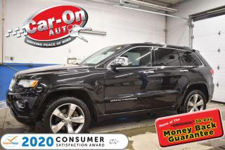 Used 2015 Jeep Grand Cherokee OVERLAND DIESEL | LOADED| REMOTE STARTER for sale in Ottawa, ON