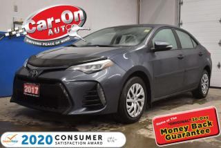 Used 2017 Toyota Corolla SE | LEATHER | HEATED SEATS | LANE DEPARTURE WARNI for sale in Ottawa, ON