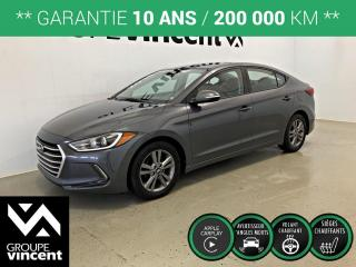 Used 2018 Hyundai Elantra GL ** GARANTIE 10 ANS ** Fiable et économique! for sale in Shawinigan, QC