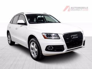 Used 2017 Audi Q5 KOMFORT  QUATTRO CUIR TOIT PANO  MAGS for sale in St-Hubert, QC
