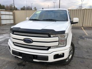 Used 2019 Ford F-150 Lariat SPORT CREW 4WD for sale in Cayuga, ON