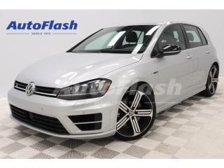 Used 2016 Volkswagen Golf R 292HP!* DSG* AWD* CAMERA* GPS* SYSTEME-FENDER* for sale in St-Hubert, QC