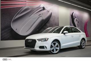 Used 2018 Audi A3 KOMFORT - 2.0 TFSI - AWD QUATTRO for sale in Sherbrooke, QC