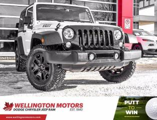 Used 2018 Jeep Wrangler JK Willys Wheeler / New Rear Brakes & Rotors !! for sale in Guelph, ON