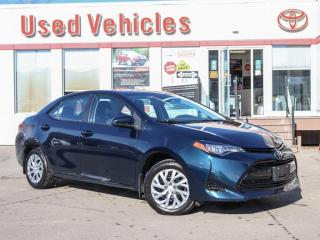 Used 2018 Toyota Corolla LE YES WE ARE OPEN! CAMERA HEATED-SEATS 1-OWNER for sale in North York, ON