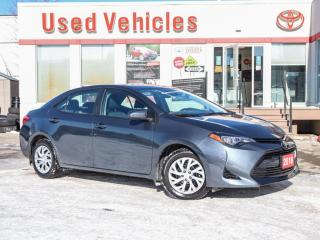 Used 2018 Toyota Corolla LE HEAT-SEAT REV-CAM 1-OWNER LOW-KMS! for sale in North York, ON