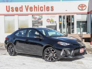 Used 2018 Toyota Corolla SE ALLOYS SUNROOF CAM HEAT-SEAT for sale in North York, ON