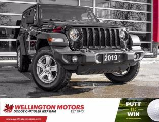 Used 2019 Jeep Wrangler Sport S >> New Front Tires >> 1 Owner !! for sale in Guelph, ON