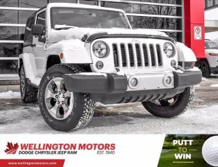 Used 2018 Jeep Wrangler JK Sahara | Low Low Km's | 4X4 ... for sale in Guelph, ON