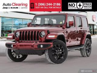 New 2021 Jeep Wrangler High Altitude Unlimited 4x4 for sale in Saskatoon, SK