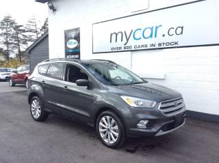 Used 2019 Ford Escape SEL LEATHER, PANOROOF, HEATED SEATS, BACKUP CAM!! for sale in North Bay, ON