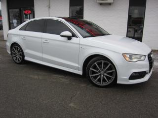 Used 2015 Audi A3 2.0T TFSI S-Line Quattro $14,995+HST+LIC FEE / S-LINE / CERTIFIED / CLEAN CARFAX for sale in North York, ON