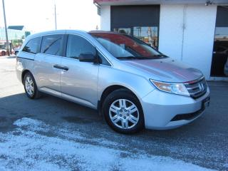 Used 2011 Honda Odyssey LX $9,995+HST+LIC FEE / 7 PASSENGER / CERTIFIED for sale in North York, ON