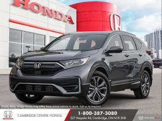New 2021 Honda CR-V Sport HONDA LANEWATCH CAMERA | APPLE CARPLAY™ & ANDROID AUTO™ | HONDA SENSING TECHNOLOGIES for sale in Cambridge, ON