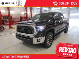 New 2021 Toyota Tundra 4x4 Crewmax SR5 with TRD Off Road for sale in Moose Jaw, SK