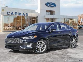 Used 2020 Ford Fusion Hybrid Titanium for sale in Carman, MB