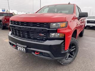 New 2021 Chevrolet Silverado 1500 Silverado Custom Trail Boss for sale in Carleton Place, ON