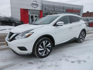 Used 2018 Nissan Murano for sale in Peterborough, ON