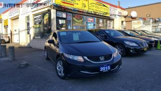 Used 2015 Honda Civic Sedan 4dr Auto LX for sale in Scarborough, ON