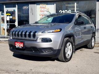 Used 2014 Jeep Cherokee 4WD 4Dr Sport for sale in Bowmanville, ON