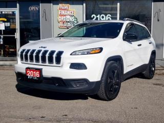 Used 2016 Jeep Cherokee FWD 4DR SPORT for sale in Bowmanville, ON