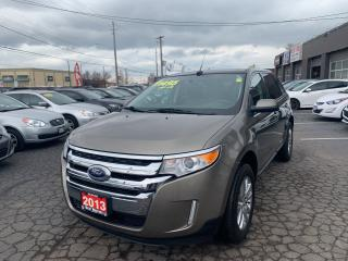 Used 2013 Ford Edge SEL-AWD-Panoramic sunroof for sale in Hamilton, ON