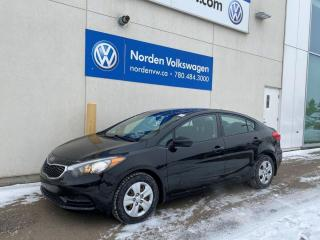 Used 2015 Kia Forte LX M/T - BLUETOOTH + PWR PKG! for sale in Edmonton, AB
