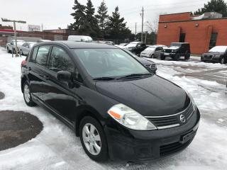 Used 2009 Nissan Versa S,120KM,6SPD,ALLOYS,SAFETY+3YEARS WARRANTY INCLUDE for sale in Toronto, ON