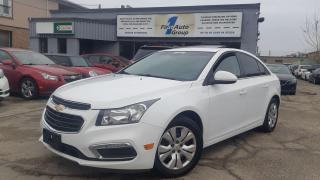 Used 2016 Chevrolet Cruze LT w/P-Moon for sale in Etobicoke, ON