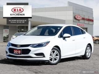 Used 2018 Chevrolet Cruze LT - Local Trade for sale in Kitchener, ON