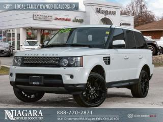 Used 2012 Land Rover Range Rover Sport SUPERCHARGED | LOCAL TRADE for sale in Niagara Falls, ON
