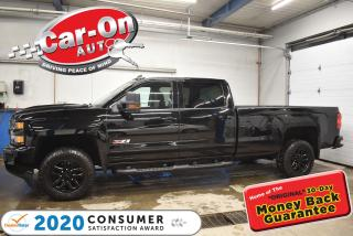 Used 2019 Chevrolet Silverado 2500 HD LT Z71 DIESEL MIDNIGHT EDITION LONG BOX LEATHER for sale in Ottawa, ON