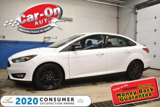 Used 2017 Ford Focus SEL PLUS BLACK PKG | SUNROOF | HEATED SEATS & STEE for sale in Ottawa, ON