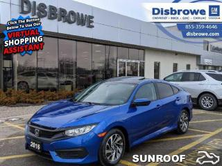 Used 2016 Honda Civic Sedan EX for sale in St. Thomas, ON