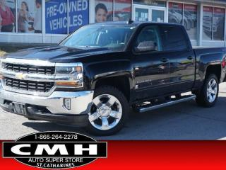 Used 2018 Chevrolet Silverado 1500 LT  CAM BLUETOOTH P/SEAT 20-AL for sale in St. Catharines, ON